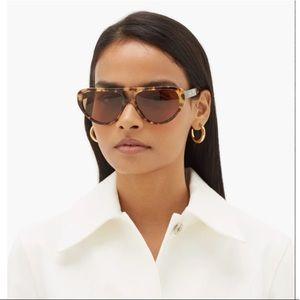 Chloé tortoiseshell cat-eyes sunglasses